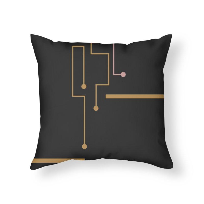 Tech Bro Home Throw Pillow by covereaux's Artist Shop