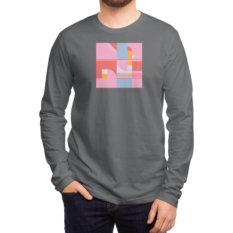 Lazy Afternoon Men's Longsleeve T-Shirt by covereaux's Artist Shop