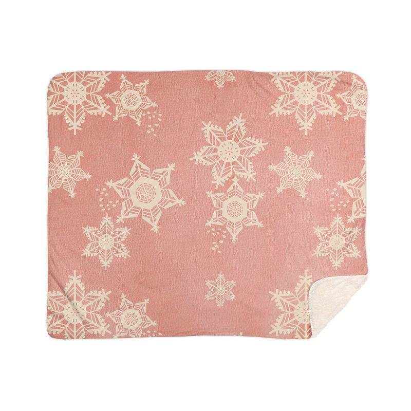 Boho Christmas Home Blanket by covereaux's Artist Shop