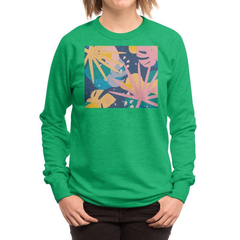 Splash! Women's Sweatshirt by covereaux's Artist Shop