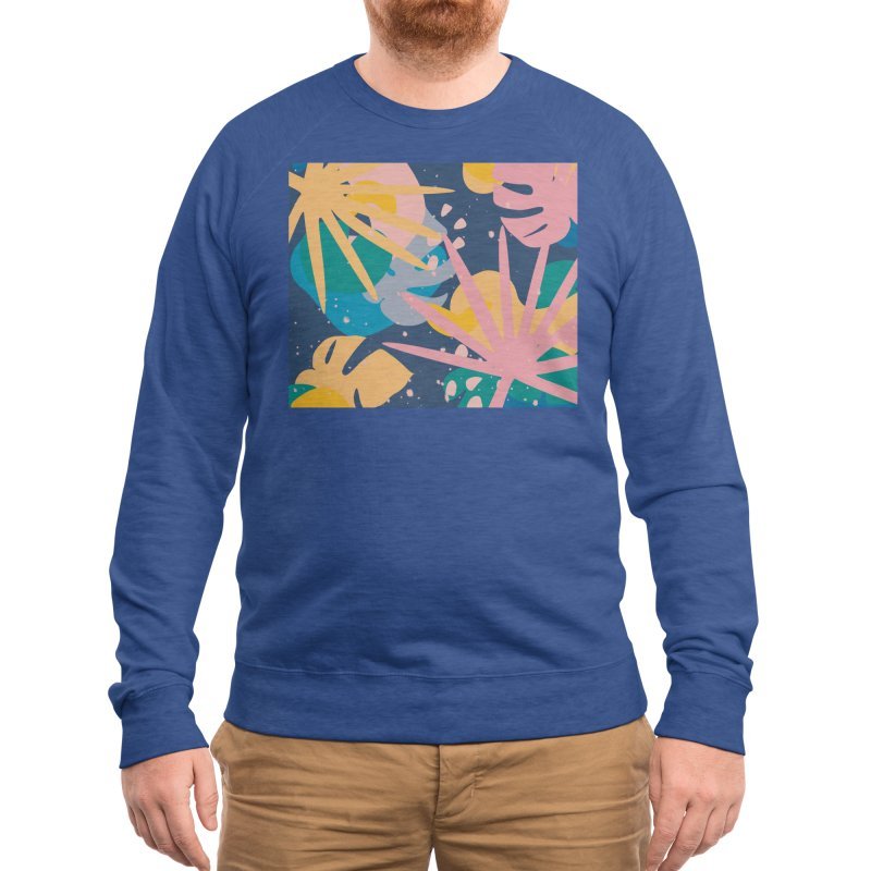 Splash! Men's Sweatshirt by covereaux's Artist Shop