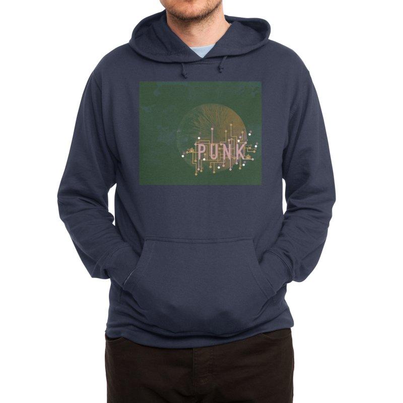 Cyberpunk Men's Pullover Hoody by covereaux's Artist Shop