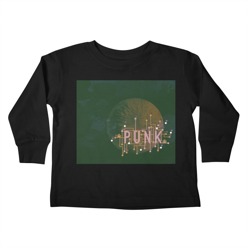 Cyberpunk Kids Toddler Longsleeve T-Shirt by covereaux's Artist Shop