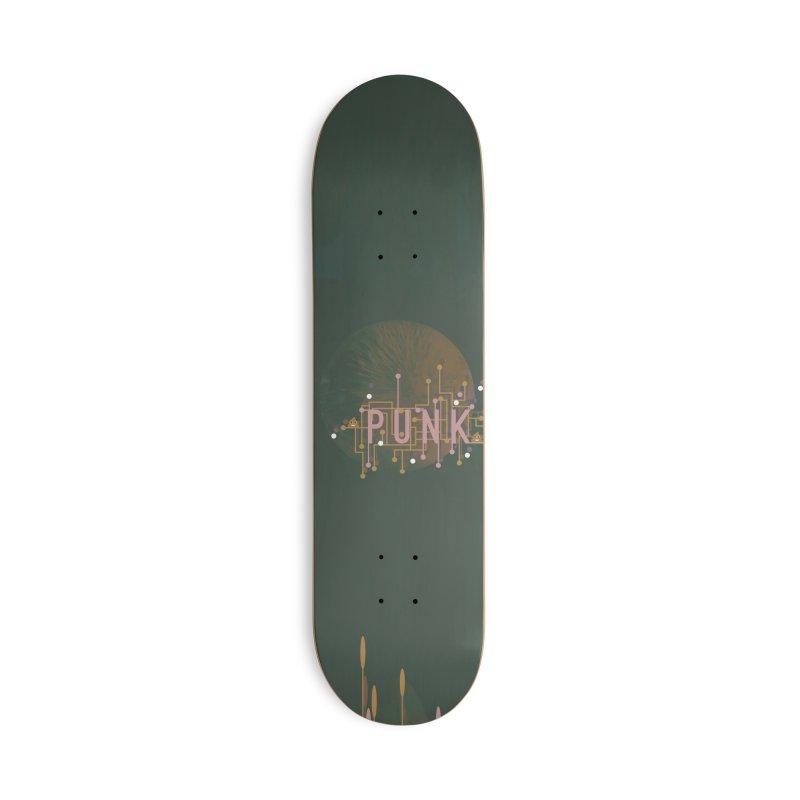 Cyberpunk Accessories Skateboard by covereaux's Artist Shop