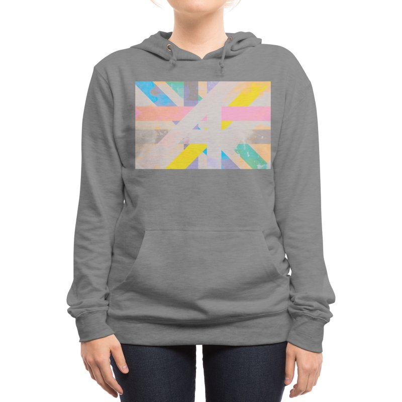 Abstract Interweave Women's Pullover Hoody by covereaux's Artist Shop