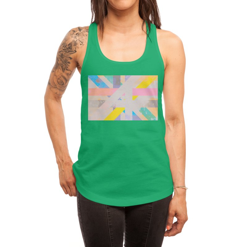 Abstract Interweave Women's Tank by covereaux's Artist Shop