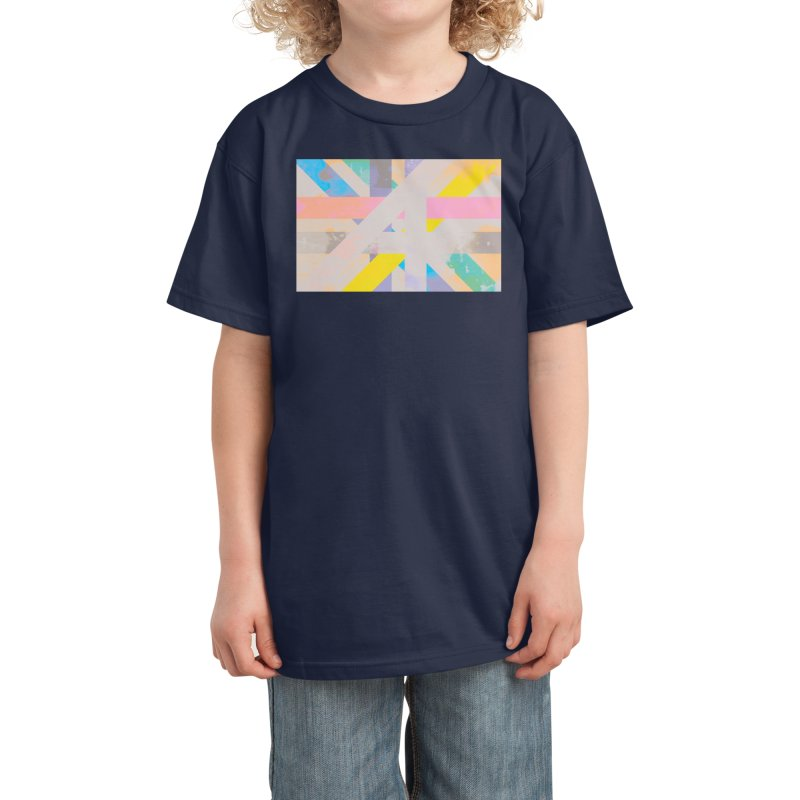 Abstract Interweave Kids T-Shirt by covereaux's Artist Shop