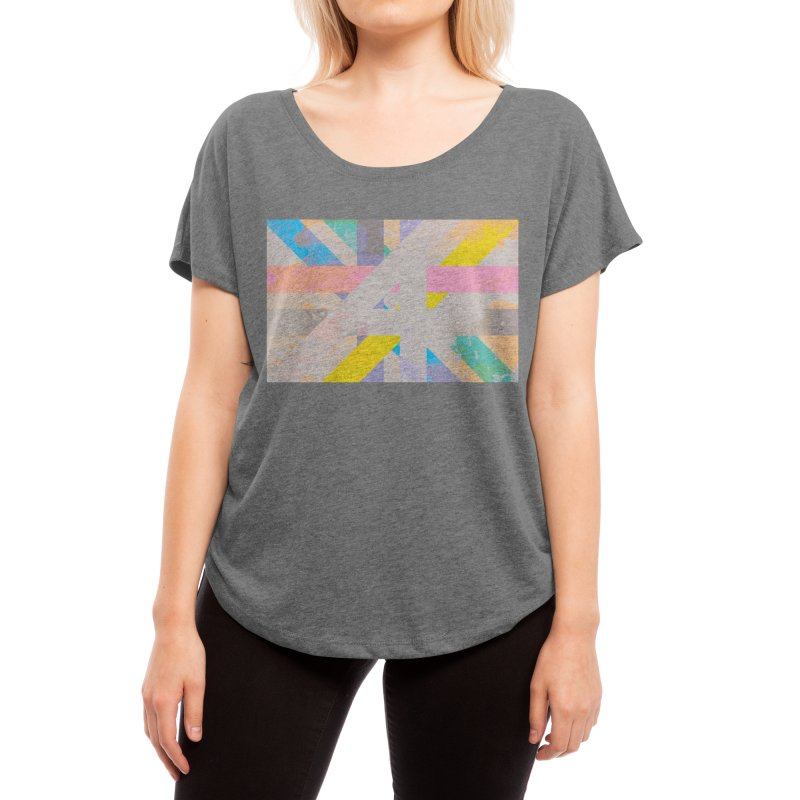 Abstract Interweave Women's Scoop Neck by covereaux's Artist Shop