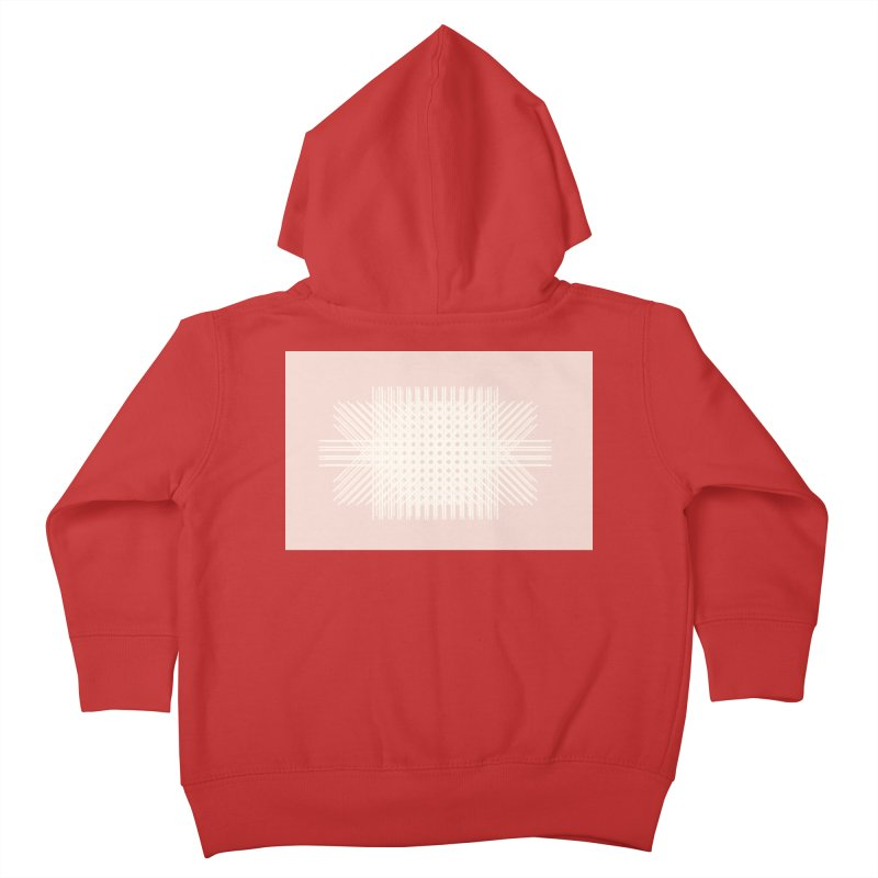 Pink Rattan Kids Toddler Zip-Up Hoody by covereaux's Artist Shop