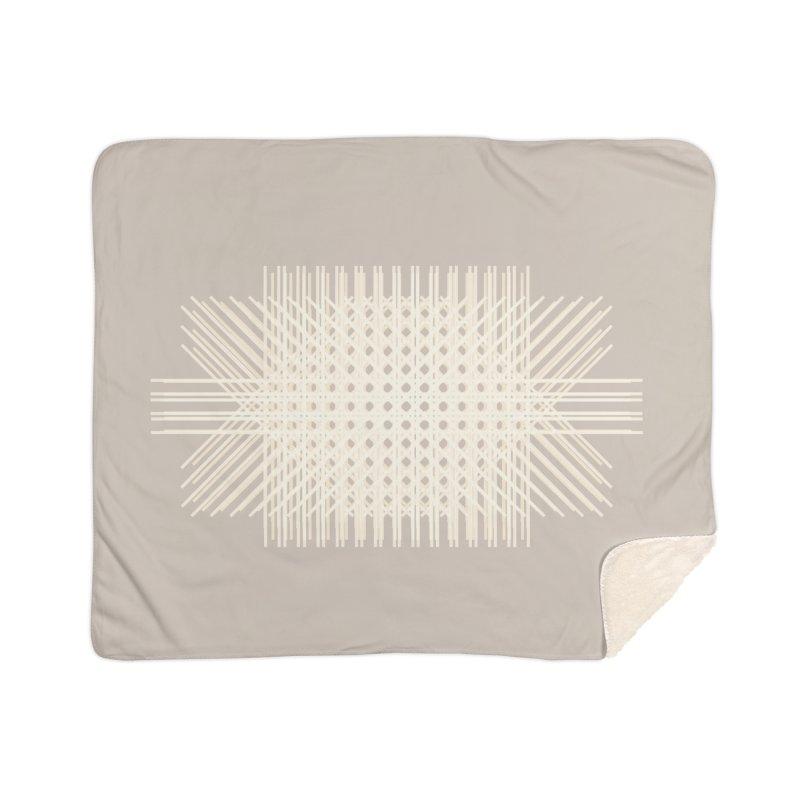 Rattan Neutrals Home Blanket by covereaux's Artist Shop