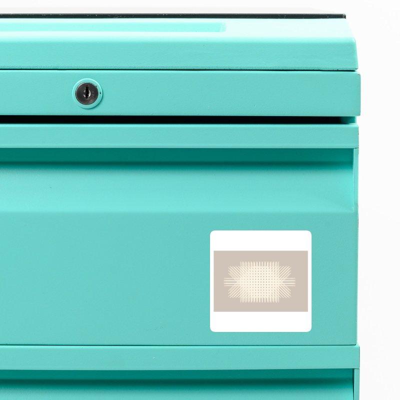 Rattan Neutrals Accessories Magnet by covereaux's Artist Shop