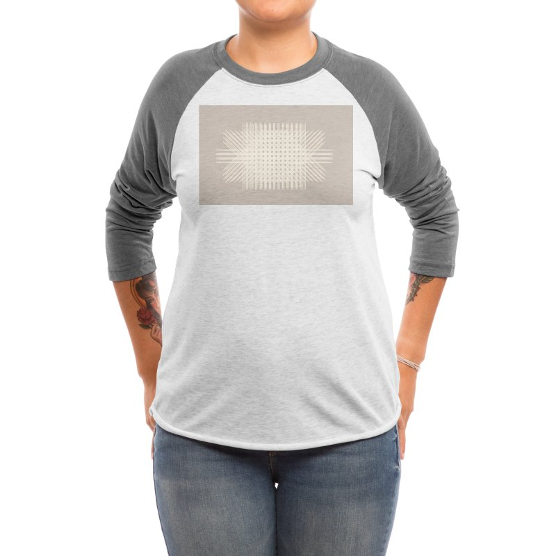 Rattan Neutrals Women's Longsleeve T-Shirt by covereaux's Artist Shop