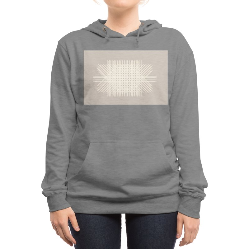 Rattan Neutrals Women's Pullover Hoody by covereaux's Artist Shop