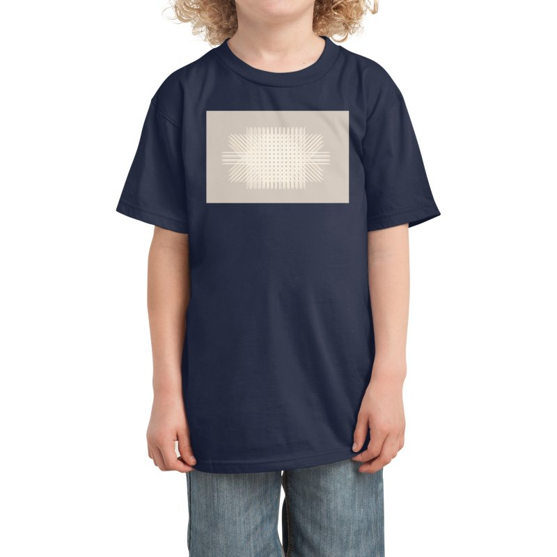 Rattan Neutrals Kids T-Shirt by covereaux's Artist Shop