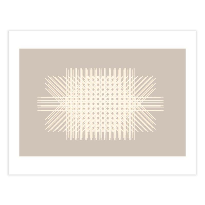 Rattan Neutrals Home Fine Art Print by covereaux's Artist Shop