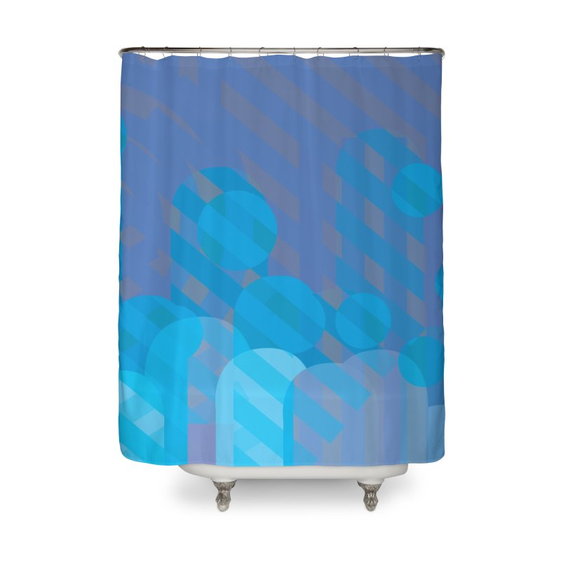 Vivid Dreams in Peacock Home Shower Curtain by covereaux's Artist Shop
