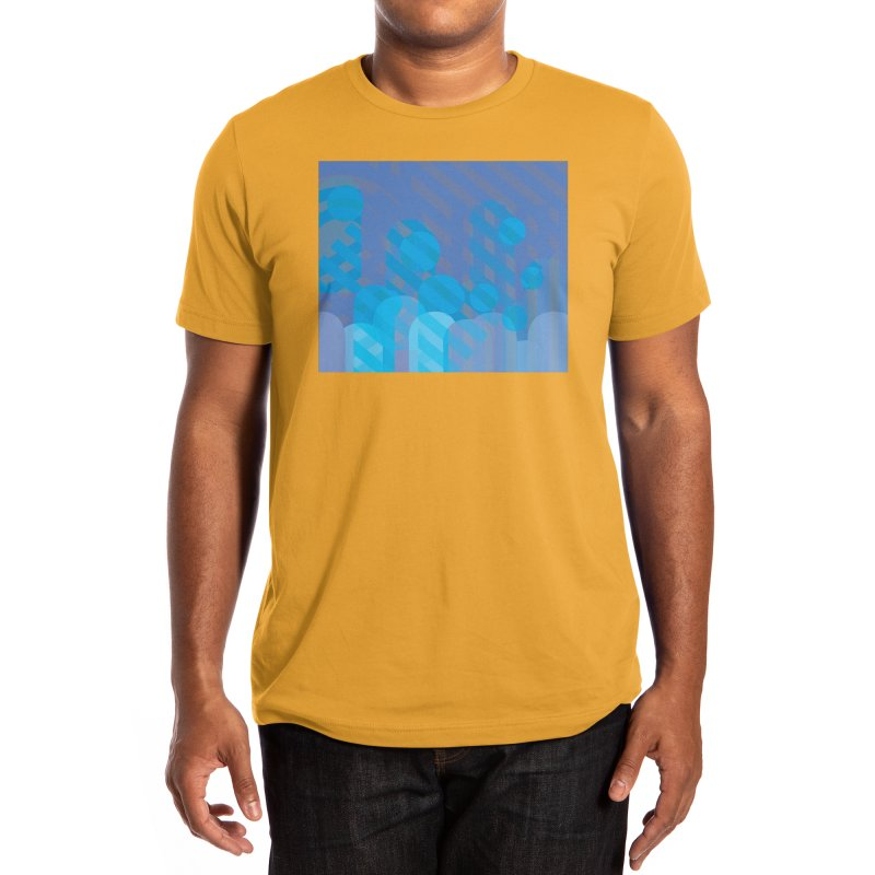 Vivid Dreams in Peacock Men's T-Shirt by Covereaux's Skate Shop