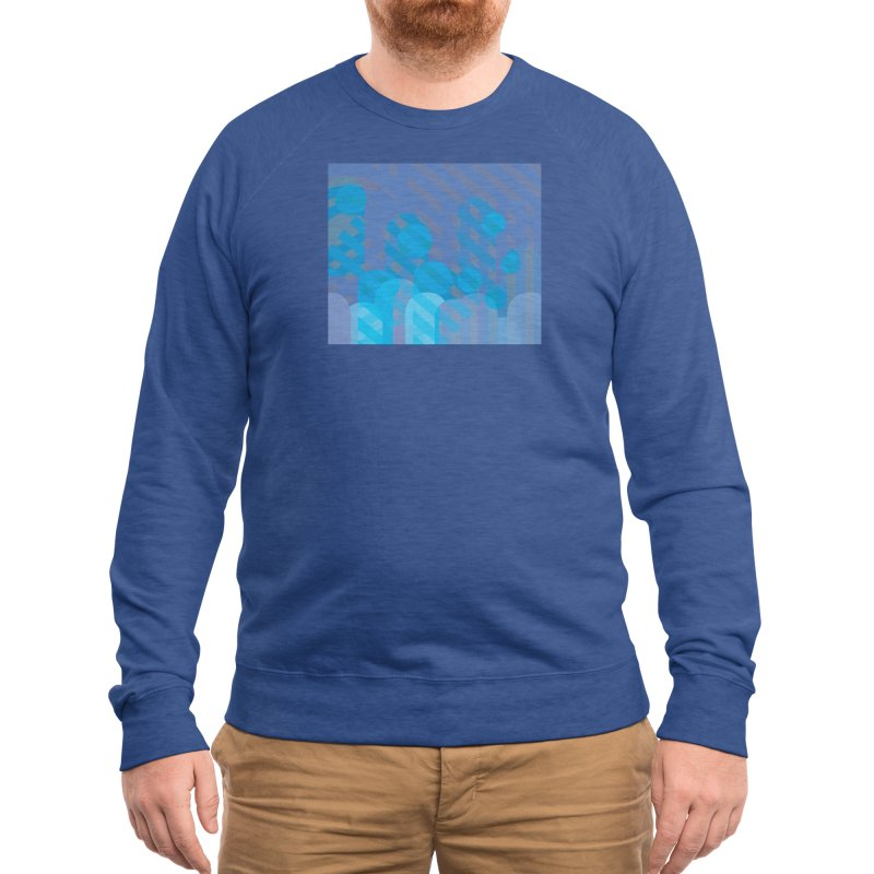 Vivid Dreams in Peacock Men's Sweatshirt by covereaux's Artist Shop