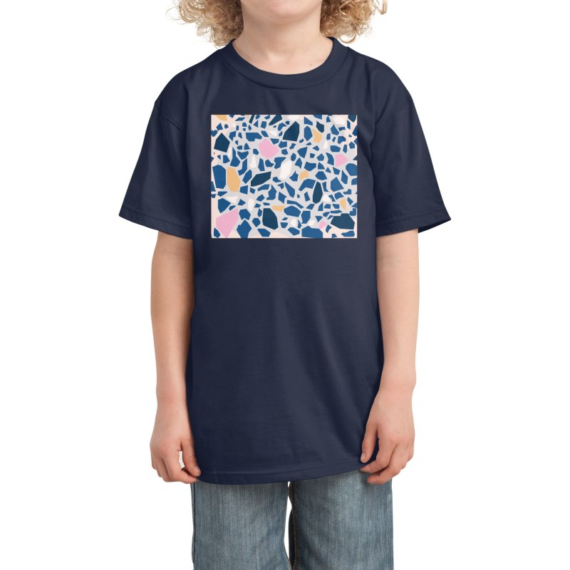 The Terrazzo Kids T-Shirt by covereaux's Artist Shop