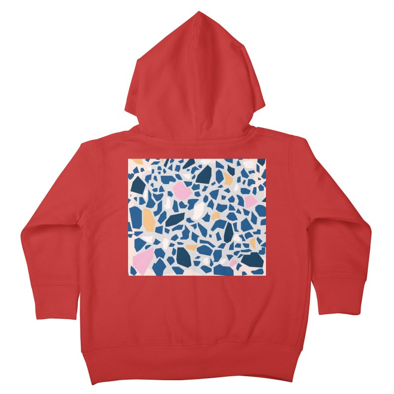 The Terrazzo Kids Toddler Zip-Up Hoody by Covereaux's Skate Shop