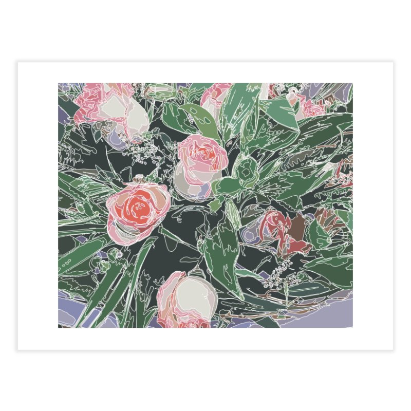Wild Rose Home Fine Art Print by covereaux's Artist Shop
