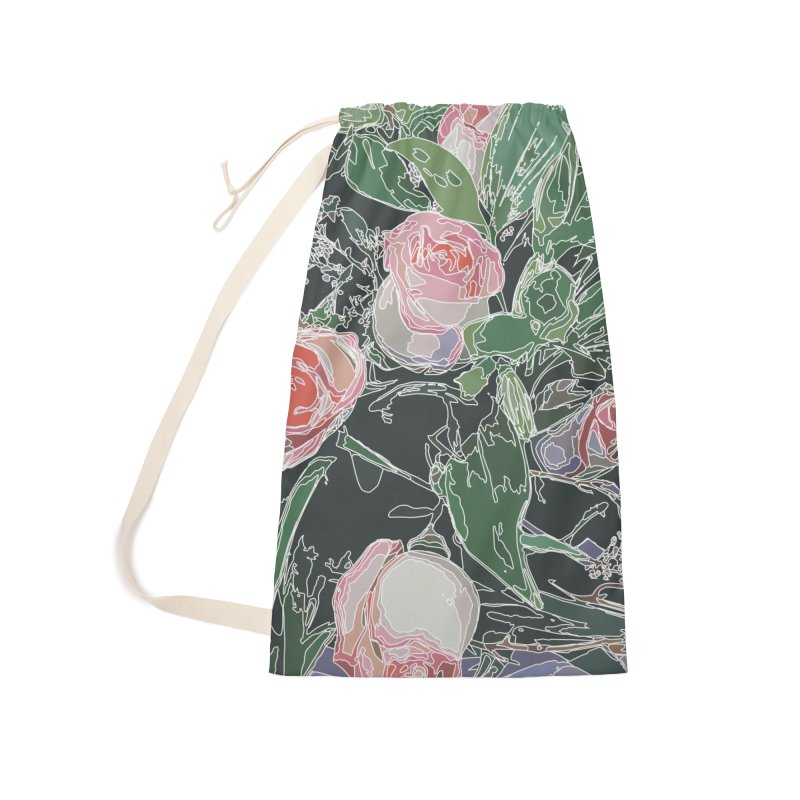 Wild Rose Accessories Bag by covereaux's Artist Shop