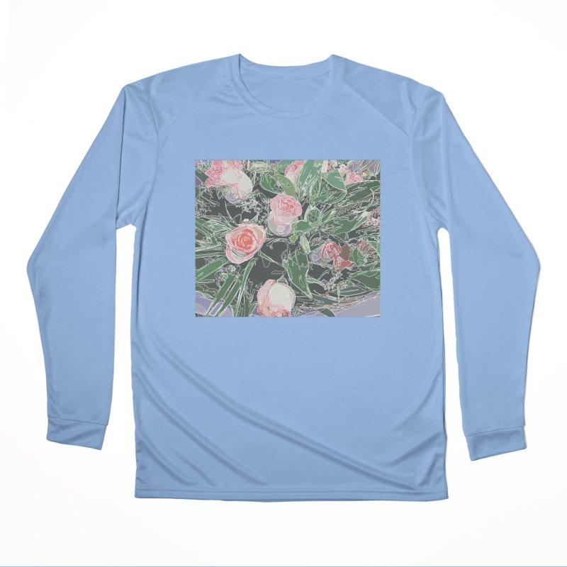 Wild Rose Women's Longsleeve T-Shirt by covereaux's Artist Shop
