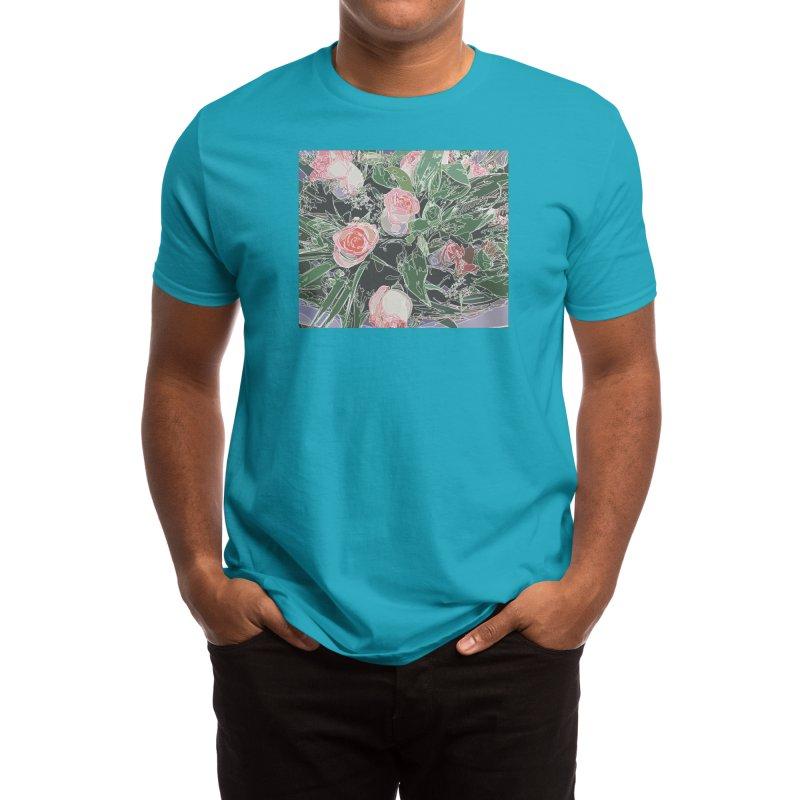 Wild Rose Men's T-Shirt by covereaux's Artist Shop