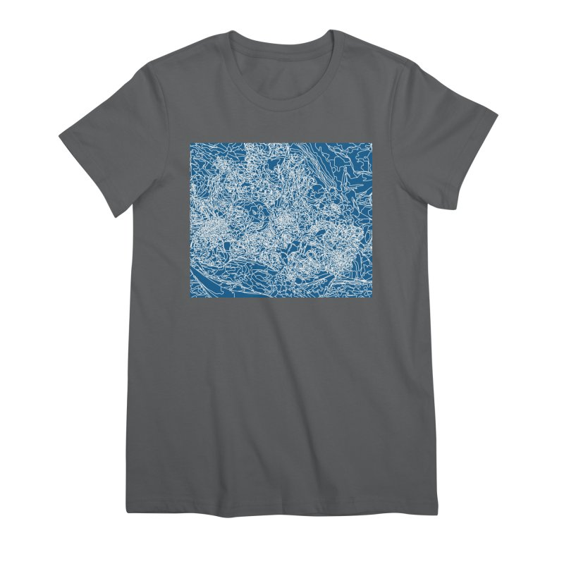 Coastline Women's T-Shirt by covereaux's Artist Shop