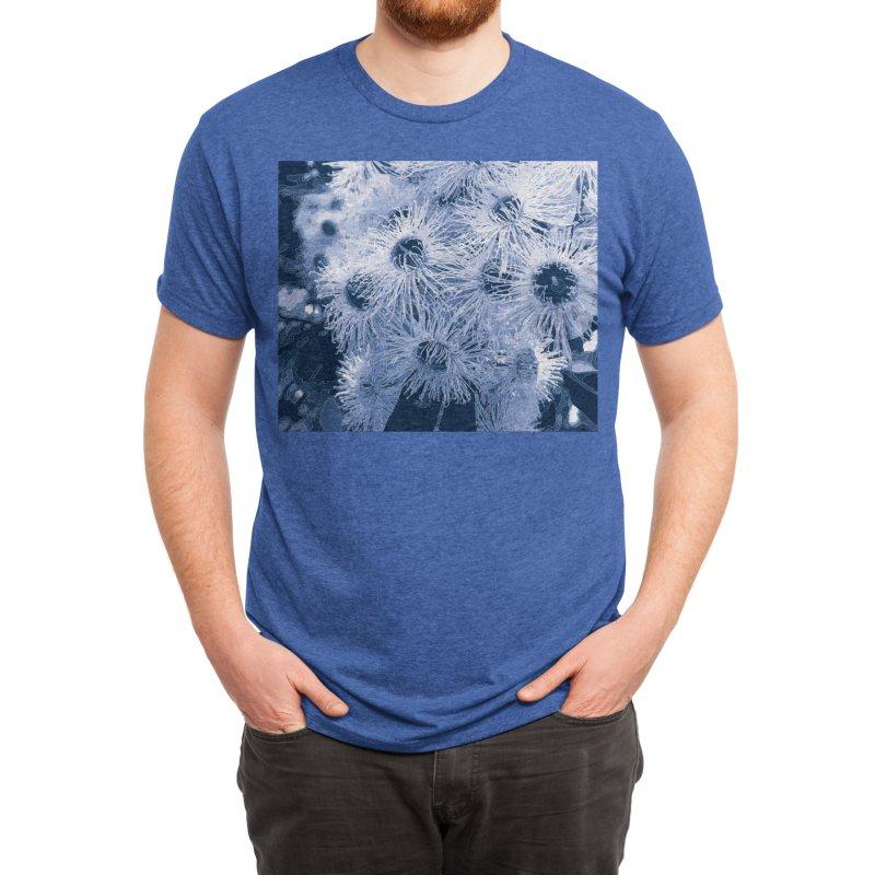 Eucalyptus Blues Men's T-Shirt by covereaux's Artist Shop