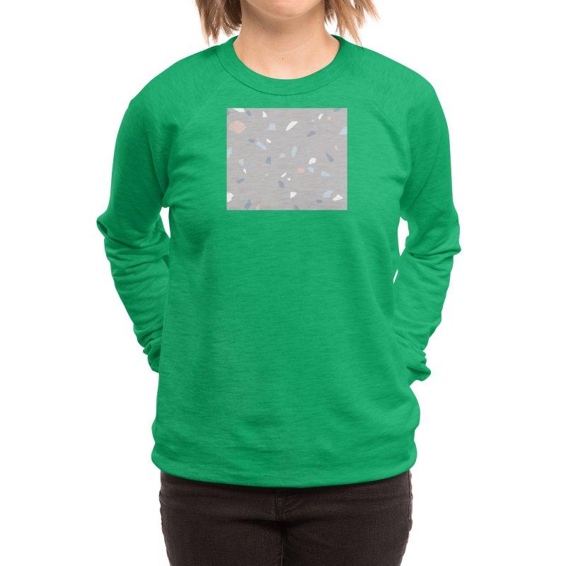 Terrazzo Neutral Women's Sweatshirt by covereaux's Artist Shop