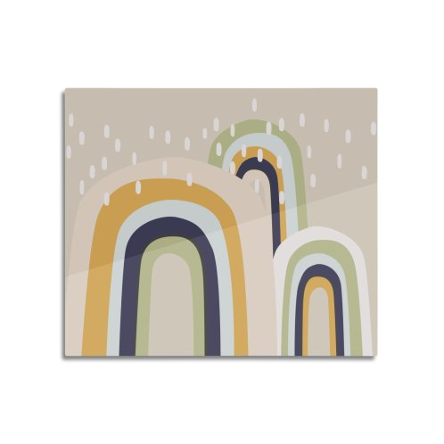 image for Abstract Stormy Rainbow I