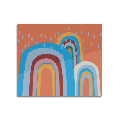 image for Abstract Stormy Rainbow II
