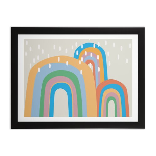 image for Abstract Stormy Rainbow III