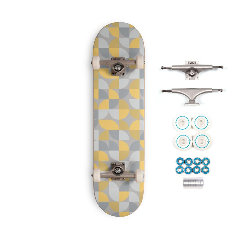Abstract Lemon Accessories Skateboard by Covereaux's Skate Shop