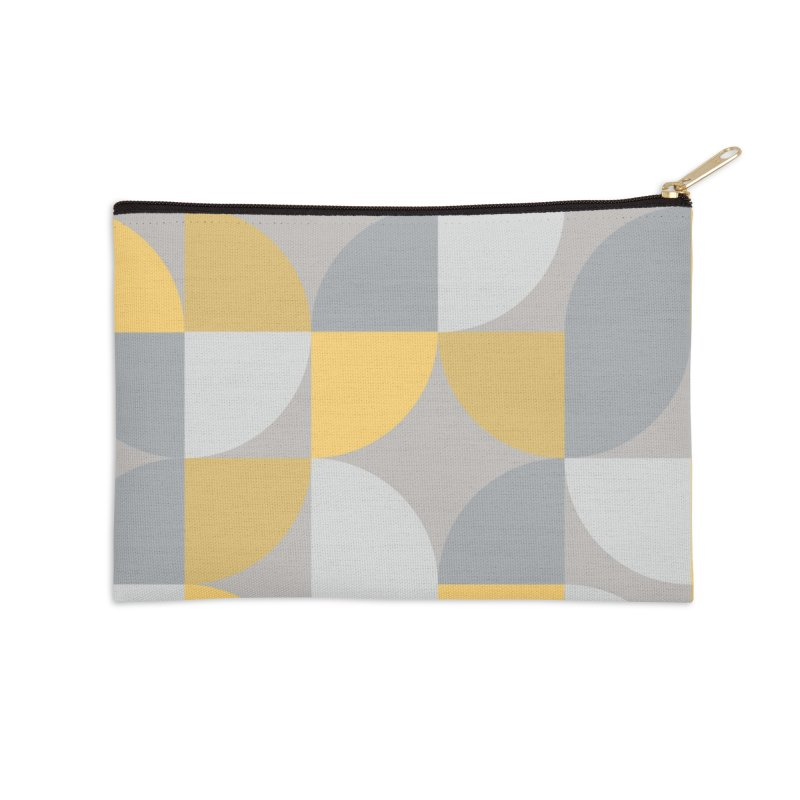 Abstract Lemon Accessories Zip Pouch by Covereaux's Skate Shop