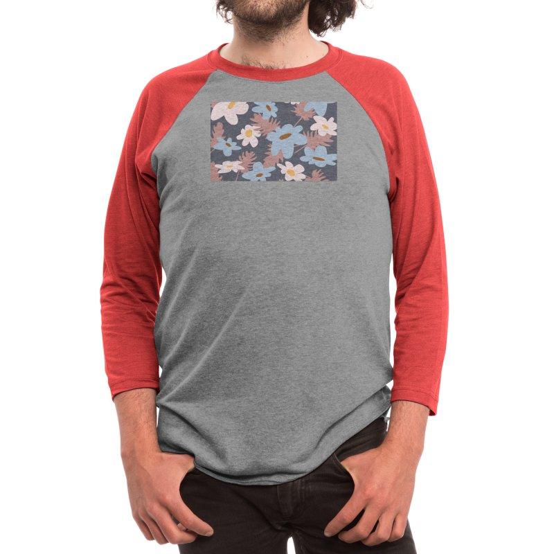 Future Floral Collection I Men's Longsleeve T-Shirt by Covereaux's Skate Shop