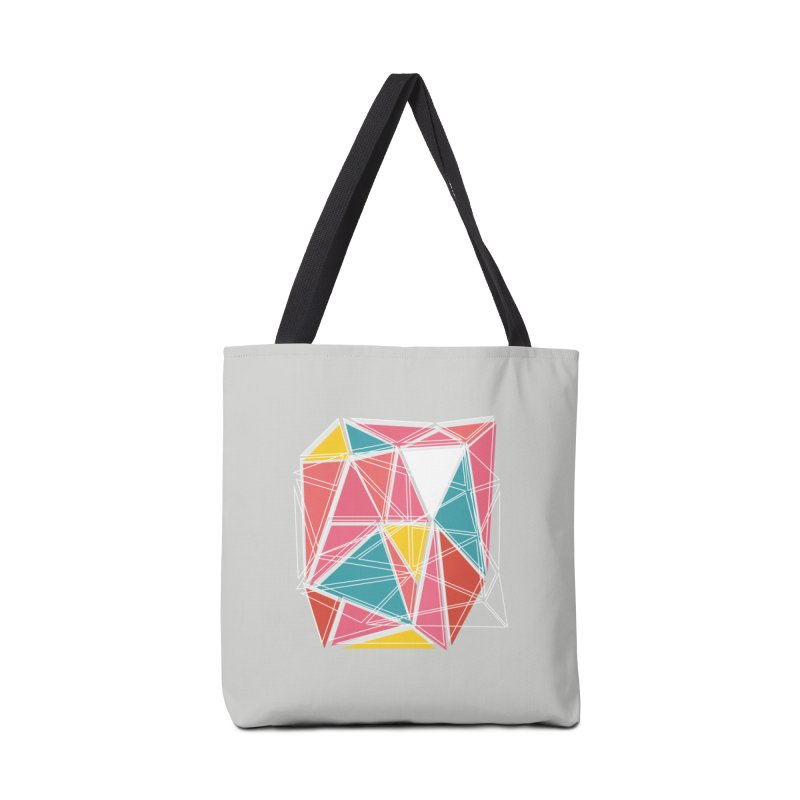 Cubist on Gray Accessories Bag by Covereaux's Skate Shop