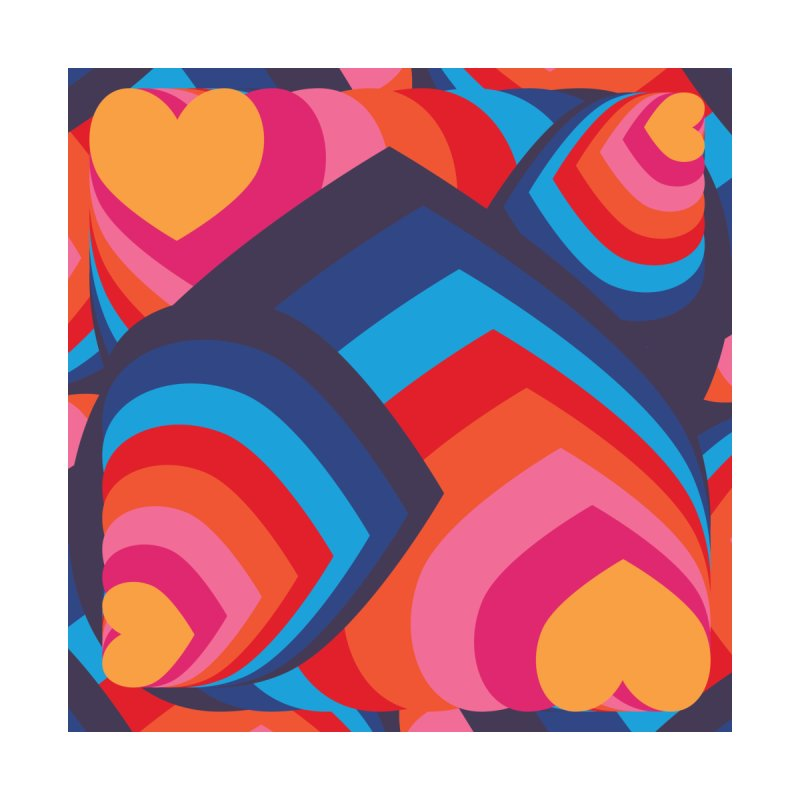Love in Full Colour Women's Longsleeve T-Shirt by Covereaux's Skate Shop