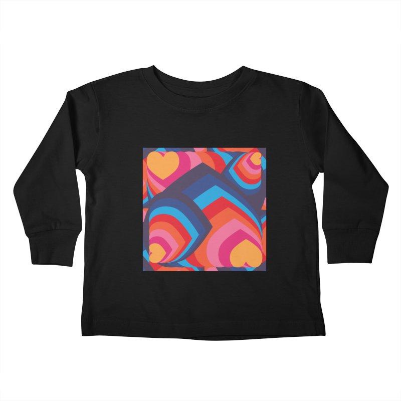 Love in Full Colour Kids Toddler Longsleeve T-Shirt by Covereaux's Skate Shop