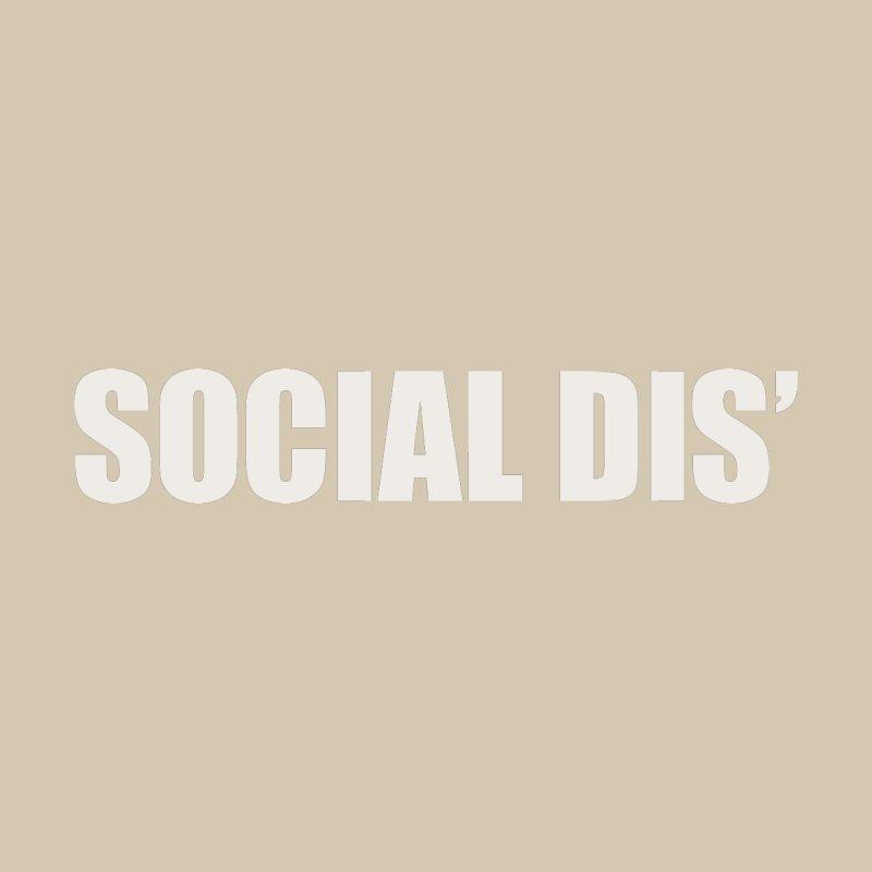Social Dis Men's Longsleeve T-Shirt by Covereaux's Skate Shop