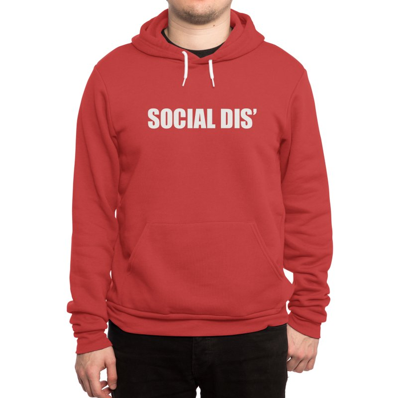 Social Dis Men's Pullover Hoody by Covereaux's Skate Shop
