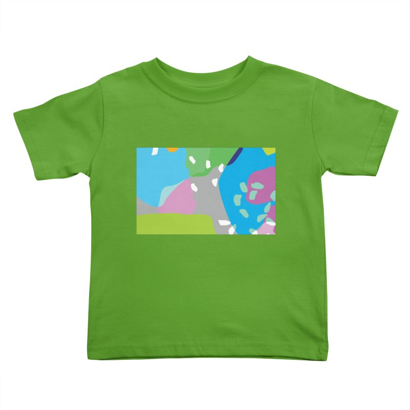 Summer Holiday II Kids Toddler T-Shirt by Covereaux's Skate Shop