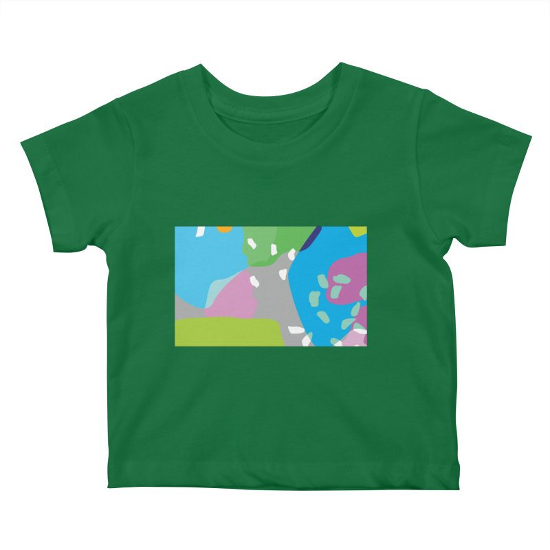 Summer Holiday II Kids Baby T-Shirt by Covereaux's Skate Shop