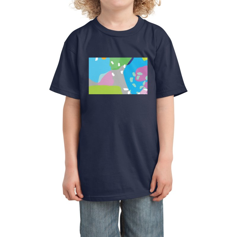 Summer Holiday II Kids T-Shirt by Covereaux's Skate Shop