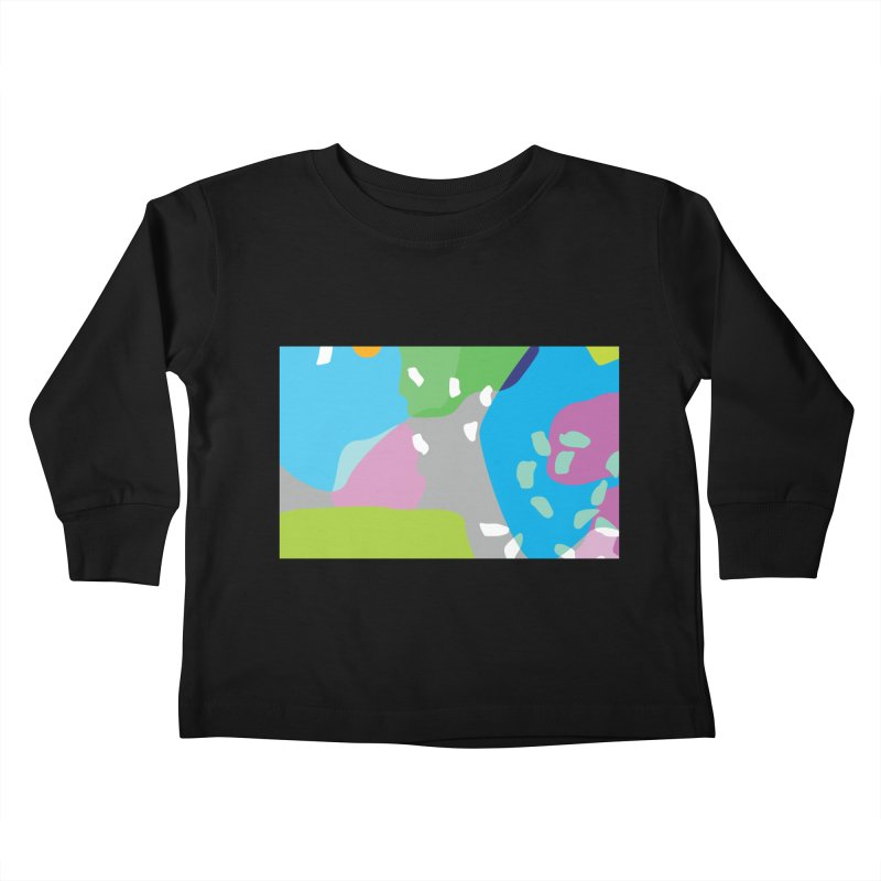 Summer Holiday II Kids Toddler Longsleeve T-Shirt by Covereaux's Skate Shop