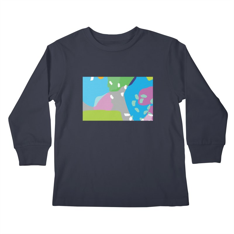 Summer Holiday II Kids Longsleeve T-Shirt by Covereaux's Skate Shop