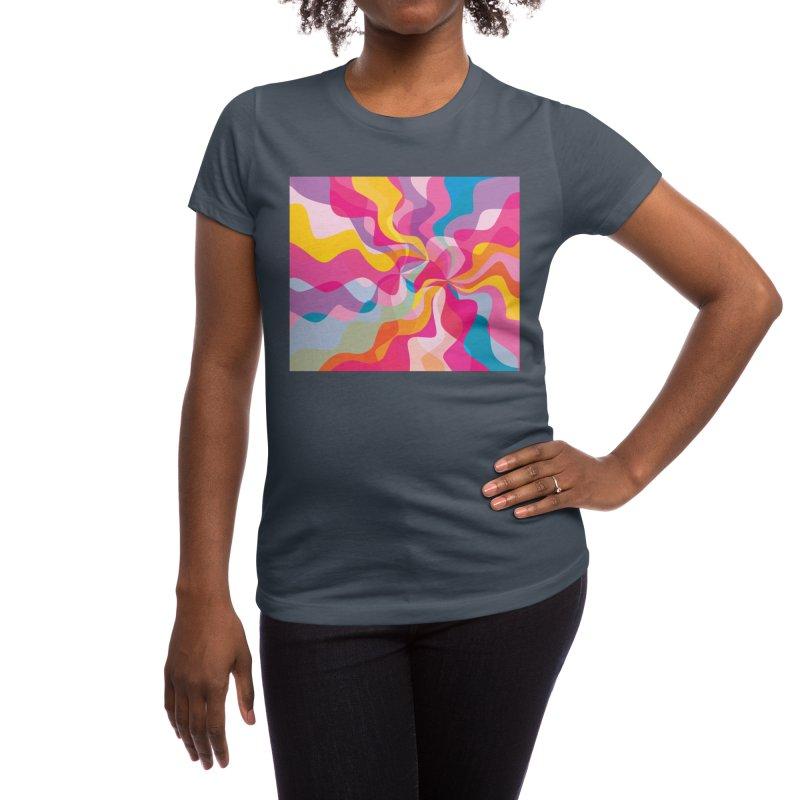 Groovy Women's T-Shirt by Covereaux's Skate Shop