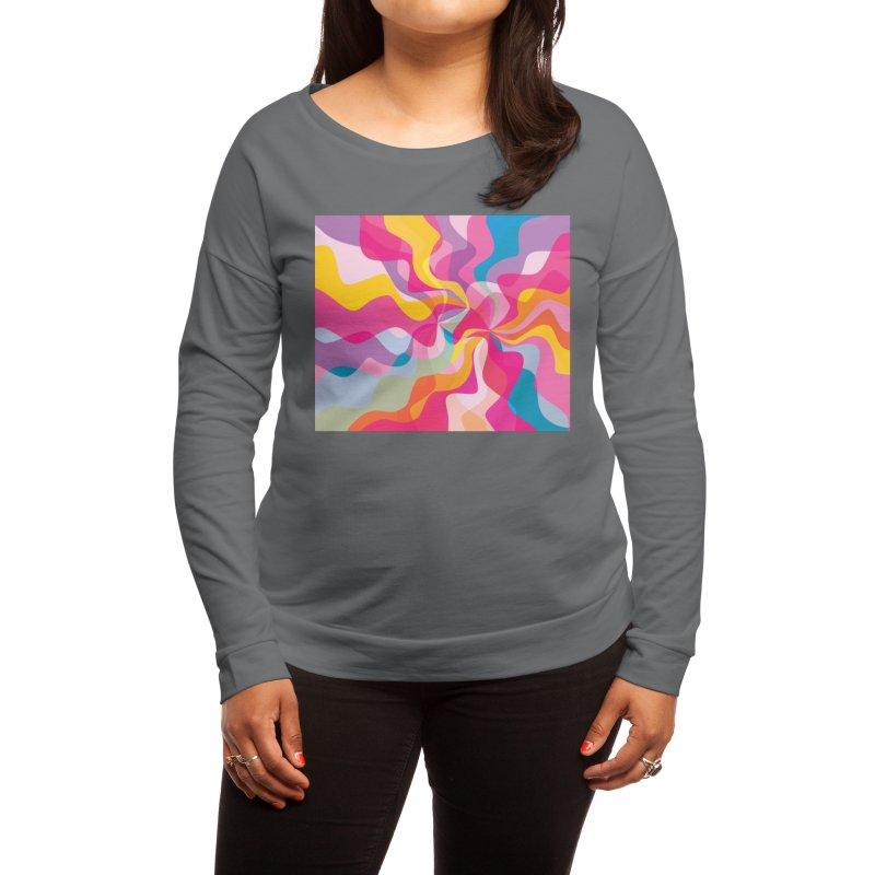 Groovy Women's Longsleeve T-Shirt by Covereaux's Skate Shop