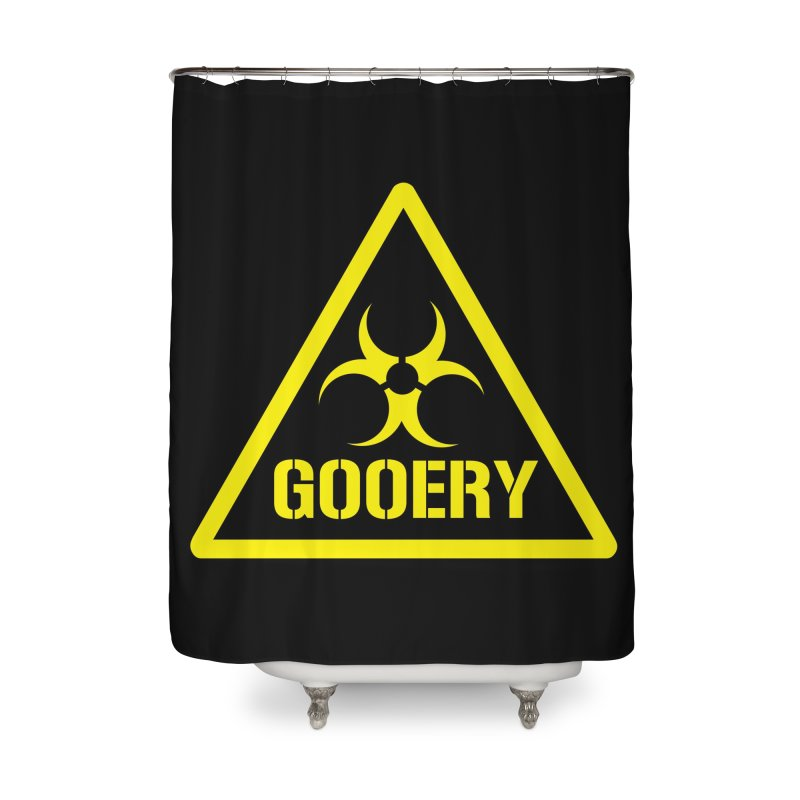 The Gooery - Warehouse 13 Home Shower Curtain by Cowboy Goods Artist Shop